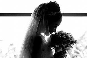 巴厘岛水之教堂婚礼照片(CHEN+XIE)_海外婚礼