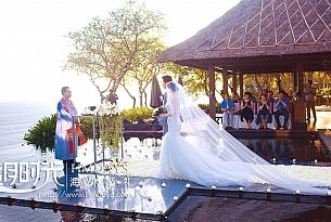 巴厘岛宝格丽海外婚礼_海外婚礼