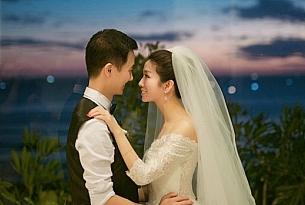 巴厘岛蓝点教堂婚礼婚纱照片_海外婚礼