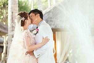 江苏常先生和徐女士的巴厘岛拉古娜特色婚礼_海外婚礼