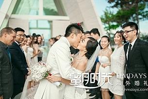 巴厘岛港丽无限教堂婚礼全程_海外婚礼