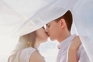巴厘岛蓝点教堂婚礼+外景拍摄服务_海外婚礼