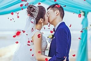 港丽沙滩巴厘岛婚礼_海外婚礼
