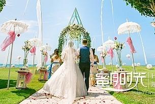 美乐滋教堂巴厘岛婚礼客片LUO+HE_海外婚礼