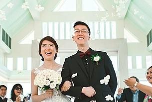 普吉岛拉古娜教堂婚礼客片_海外婚礼
