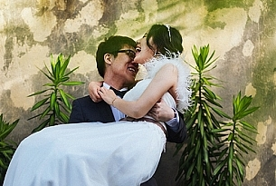 巴厘岛港丽教堂婚礼_海外婚礼