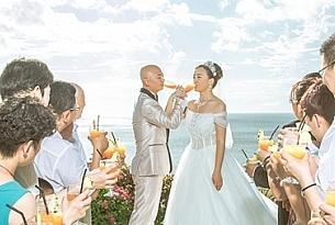 蓝点教堂巴厘岛结婚客片W+Y_海外婚礼