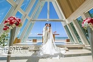 巴厘岛港丽无限教堂婚礼_海外婚礼