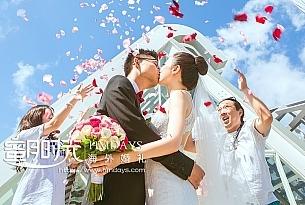 白鸽教堂巴厘岛婚礼_海外婚礼