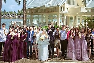 普吉岛拉古娜教堂婚礼