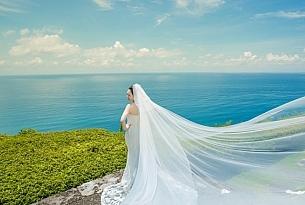 巴厘岛水之教堂婚礼_海外婚礼