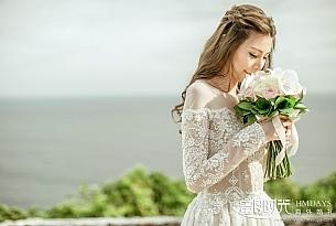 安先生和陆女士的巴厘岛阿丽拉空中平台婚礼_海外婚礼