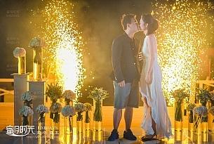 符先生和张女士的阿丽拉婚礼客片展示_海外婚礼