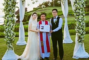巴厘岛泛太平洋酒店婚礼照片(广州张先生和冯女士)_海外婚礼