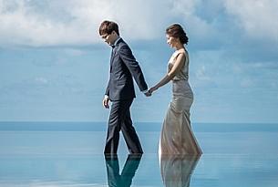 巴厘岛阿丽拉空中婚礼(ALILA)婚纱照MIKE+BIXI_海外婚礼