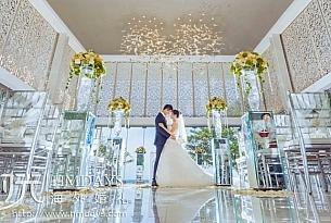 索菲特珍宝盒教堂婚礼(TAN+ZHU)_海外婚礼