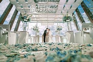 巴厘岛水晶教堂婚礼_海外婚礼