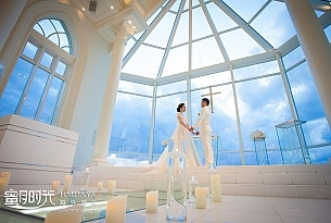 拉索尔教堂婚礼照片_海外婚礼