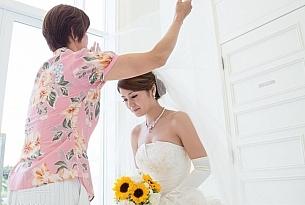 拉索尔教堂冲绳婚礼婚纱照_海外婚礼