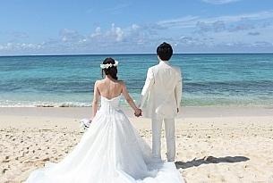 日本冲绳海外婚礼教堂拉索尔Lazor婚纱照片_海外婚礼
