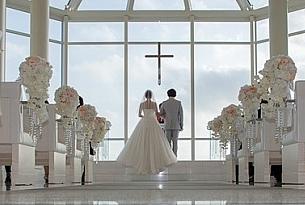 拉索尔冲绳教堂Lazor婚纱照_海外婚礼