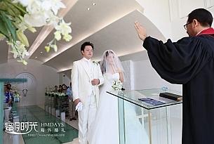 Ribera冲绳日本教堂婚礼照片_海外婚礼