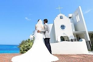 冲绳Ribera海豚教堂婚礼照片(OKINAWA)_海外婚礼