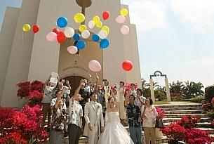 斯黛拉Stelar教堂冲绳日本婚礼照片_海外婚礼