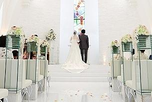 日本冲绳Stelar Kanucha Okinawa教堂婚礼照片_海外婚礼