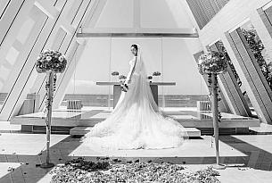 巴厘岛无限教堂婚礼婚纱照SS+LX_海外婚礼