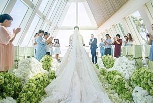 港丽无限教堂婚礼照片ZY+ZYJ_海外婚礼