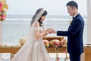 巴厘岛丽思卡尔顿教堂婚礼_海外婚礼