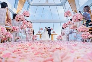 巴厘岛丽思卡尔顿教堂婚礼+丽卡草坪晚宴_海外婚礼