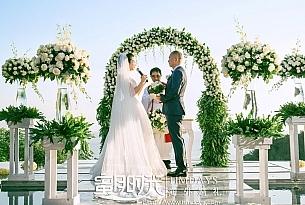 巴厘岛悦榕庄总统别墅婚礼_海外婚礼