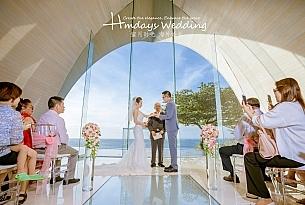 巴厘岛新爵士娜教堂婚礼婚纱照片_海外婚礼