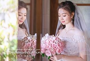 巴厘岛海之教堂婚礼(升级布置)_海外婚礼
