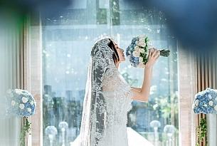 巴厘岛无限教堂婚礼照片_海外婚礼