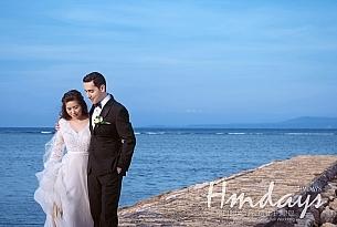 巴厘岛港丽无限教堂婚礼客片