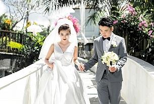 颜先生和耿女士的巴厘岛珍珠教堂婚礼客片_海外婚礼