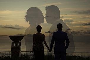 电影海报-巴厘岛水晶教堂婚礼客片_海外婚礼