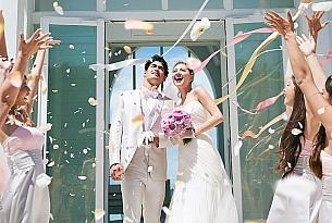 冲绳海教堂官方样片1_海外婚礼