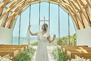 垣岛教堂婚礼样片1_海外婚礼