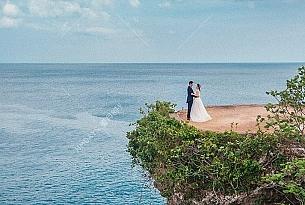 黄先生的巴厘岛水之教堂婚礼_海外婚礼