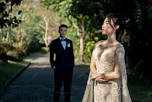 巴厘岛白鸽教堂婚礼客片(dove)悦榕庄_海外婚礼