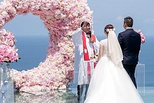 巴厘岛天空之镜婚礼_海外婚礼