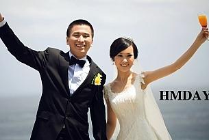 巴厘岛蓝点教堂婚礼客片赏(客人:Wang&Zhang)_海外婚礼