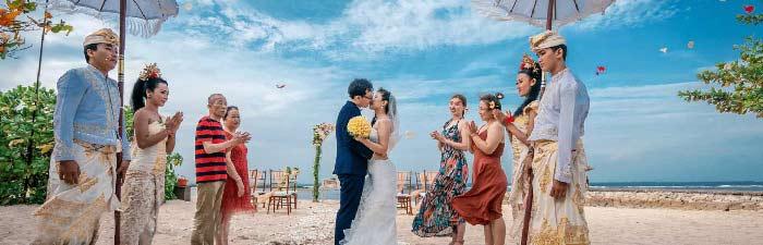 巴厘岛肉桂沙滩婚礼婚礼视频