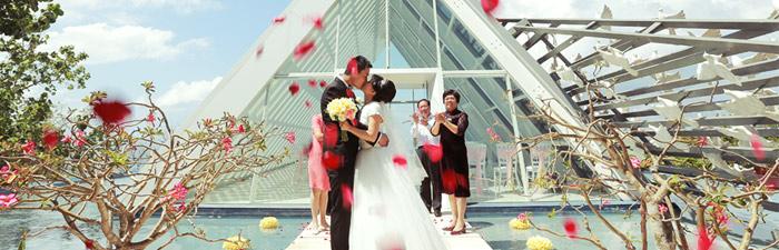 巴厘岛白鸽教堂婚礼婚礼视频