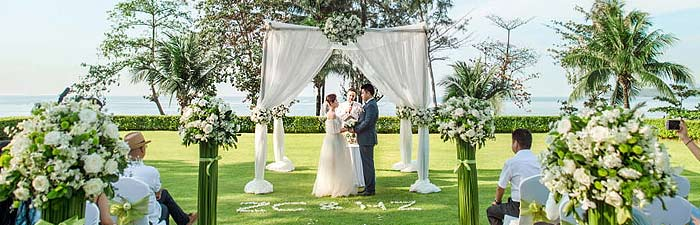 普吉岛卡马拉草坪婚礼婚礼视频