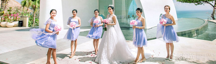 巴厘岛爵士娜教堂婚礼婚礼视频